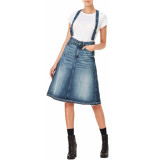 G-Star 3301 a-line midi skirt-24 denim