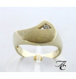 Atelier Christian Diamanten ring geel goud