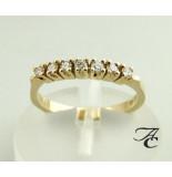 Atelier Christian Gouden ring met diamanten