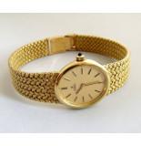 Christian Ebel horloge geel goud