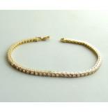 Christian Gouden armband met zirkonia geel goud