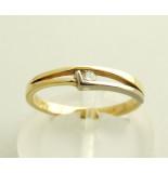 Christian Bicolor diamanten ring