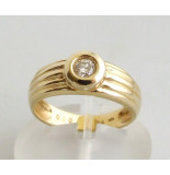 Atelier Christian Gouden briljanten ring