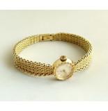 Christian Gouden ebel horloge geel goud