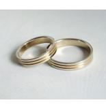 Christian Bicolor trouwringen geel goud