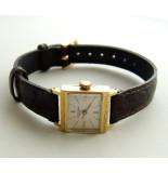 Christian Favre leuba genëve horloge geel goud