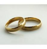 Christian Gouden trouwringen mooi egaal geel goud