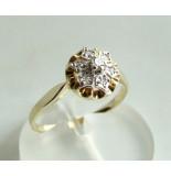 Christian Gouden diamanten ring geel goud