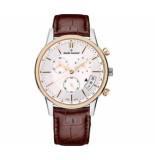 Claude Bernard Classic chronograph 01002 357r air geel goud