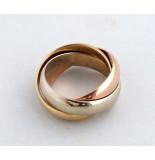 Casio Ocn tricolor ring rosé goud