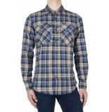 Antony Morato Shirt check-4 l blauw