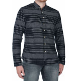 Pearly King Strasse shirt -6 xxl zwart