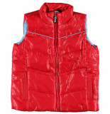 Color Kids Ski patrol rode bodywarmer wokka rood