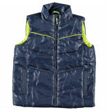 Color Kids Donker blauwe bodywarmer wokka