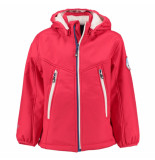 Color Kids Lollipop rode winter softshell jas sapello 8.000mm waterkolom rood
