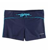 Nickey Nobel Donker jongens zwembroek met striping blauw