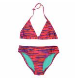 Chiemsee Rood/paarse triangle meisjes bikini lana