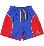 Beco Rood / zwemshort kids met binnenbroekje blauw