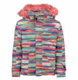 Spyder Multicolor meisjes ski jas bitsy lola10.000mm waterkolom