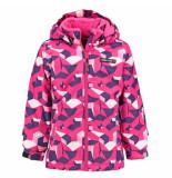 LEGO Wear / paarse meisjes ski jas jenny 10.000mm waterkolom roze