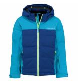 Dare2b Jongens ski jas improv waterproof blauw