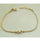 Christian Gouden infinity armband geel goud