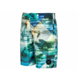 Protest Beachshort dobbs jr blauw