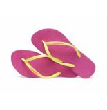 Havaianas Slipper slim logo hollywood fuchsia paars