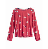 Sandwich 22001457 20160 blouse flower red