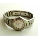 Christian Stalen longines dames horloge
