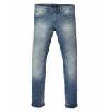 Scotch & Soda Jeans ralson tapered fit blue denim sodawash blauw