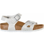 Birkenstock Rio magic snake white narrow wit