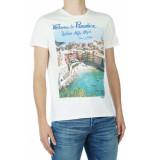 Take A Way T-shirt suncolored pink-3 m wit