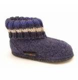 Haflinger Pantoffels paul huttenschuh jeans blauw