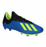 Adidas X 18.3 fg 038351 blauw