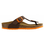 Birkenstock Gizeh desert soil brown narrow bruin