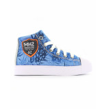 Shoesme Schoen palm blue blauw