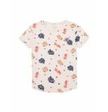 Scotch R'Belle T-shirt sweet star pink wit