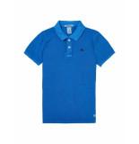 Scotch Shrunk Polo vince blue blauw