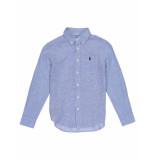 Ralph Lauren Overhemd donny blue blauw