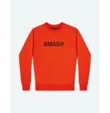 Ron Dorff Sweatshirt smash orangered oranje