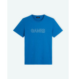 Ron Dorff T-shirt games blue blauw