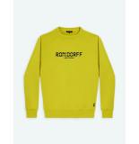 Ron Dorff Sweatshirt rd digital box yellow geel