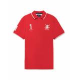 Hackett Polo army polo team red rood