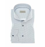 John Miller Overhemd happy tailored fit white wit