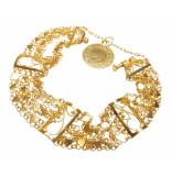 Christian 21 karaat gouden armband geel goud