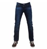 Montazinni Italian style jeans blauw