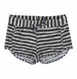 Brunotti /witte meisjes beachshort sinann zwart