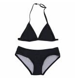 Just Beach Triangle bikini pear black zwart