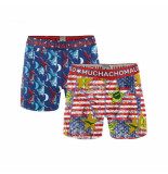 Muchachomalo boxers rood